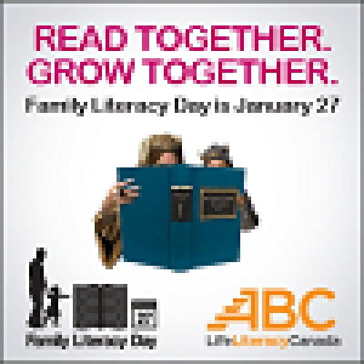 Celebrating National Family Literacy Day - January 27th