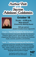 Teach the Student, Not the book (OPD Author Jayme Adelson-Goldstein)