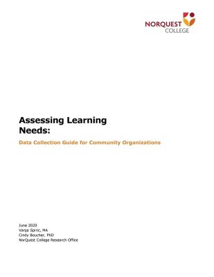 Needs Assessment – If not now, when?