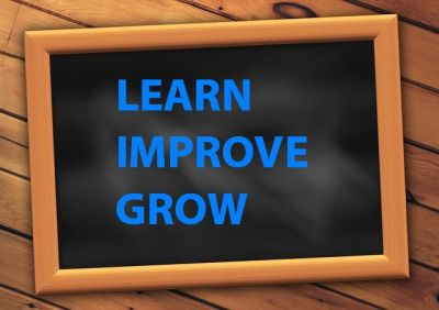 Calling You Forward to Learn, Improve and Grow…